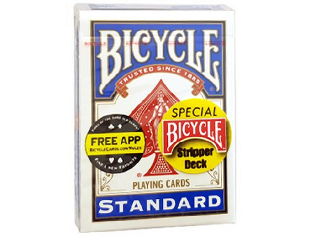 Stripper Deck Blau, Bicycle (52 Blatt)