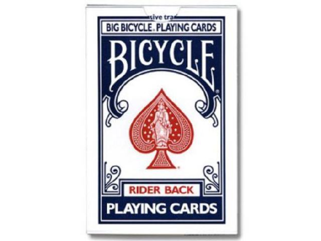 Bicycle Glory Gaff Deck V2 - Red